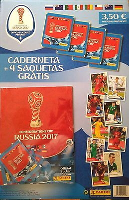 Confederations Cup Russia 2017 - Panini Starter Pack -  Portugal Edition.