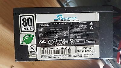 seasonic alimentation pc modulable 80 plus 500w