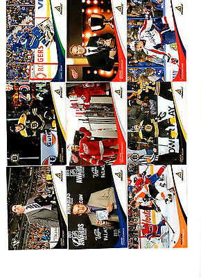 NHL Trading Cards----Komplettset---Pinnacle---2011/2012------200 Cards
