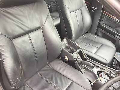 Bmw E39 5 Series Saloon Full Interior Black  Leather Seats Door Cards