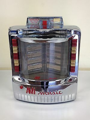 Original AMI Music Jukebox Selector 200 selections 1950's Vintage wallbox