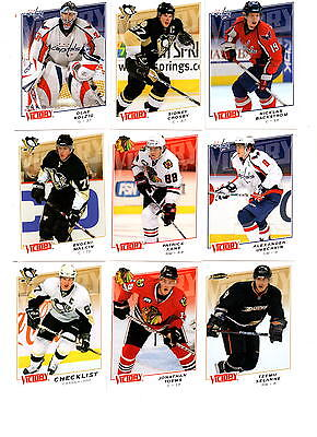 NHL Trading Cards----Komplettset---Victory--2008/2009----200 Cards