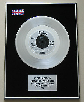 IRON MAIDEN Stranger In A Strange Land PLATINUM Single DISC Presentation