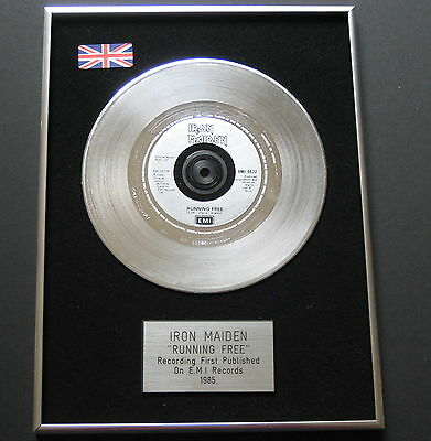 IRON MAIDEN Running Free PLATINUM Single DISC Presentation