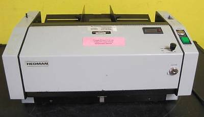 Hedman DI-100 Document Cut Sheet Check Signer Endorser DI100 Fully Tested No key