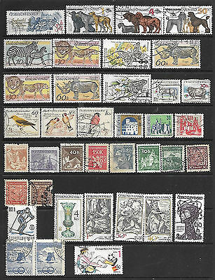 Collection Of Czechoslovakia Stamps
