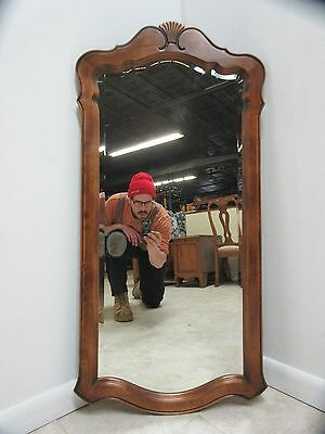 Ethan Allen Slender Country French Console Dresser Hanging Wall Mirror