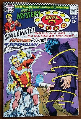 HOUSE OF MYSTERY 168, featuring DIAL H FOR HERO, JULY 1967, DC COMICS, FN