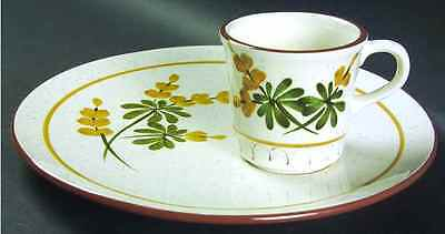 Stangl GOLDEN BLOSSOM Snack Plate & Cup 696944