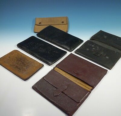A Selection of Gents Vintage Leather Wallets.