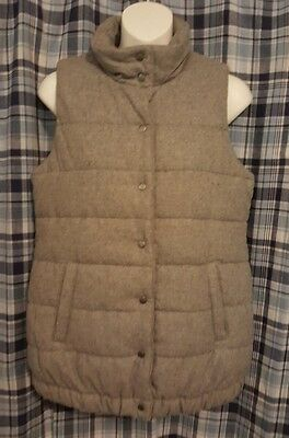 Maternity Padded Snap Puff Winter Vest
