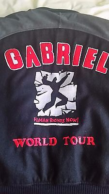Rock Star's PERSONAL vintage Tour Jacket 'Human Rights Now' 1988 ONLY ONE MADE