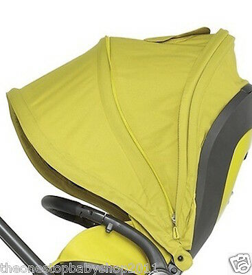 GENUINE Mamas and Papas MYLO MYLO2 PUSHCHAIR HOOD LIME JELLY New