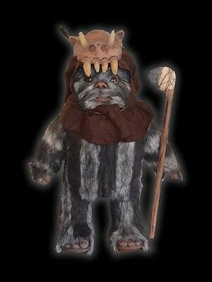 Star Wars TEEBO EWOK Lifesize Prop -- 1:1 LIFE SIZE Replica -- NEVER SEEN !!!!