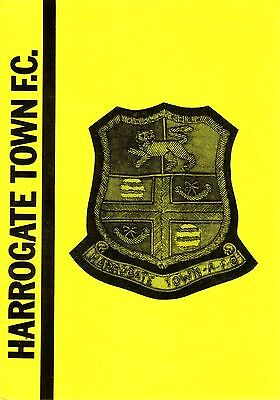 HARROGATE TOWN v BROOK SPORTS 1979/80 YORKSHIRE LEAGUE RESERVES