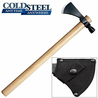 Cold Steel - Pipe Hawk Tomahawk Throwing Axe w/ Sheath 90PHH *NEW*