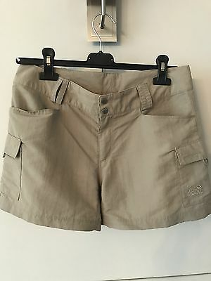 The North Face Ladies Shorts UK10/US6 Beige