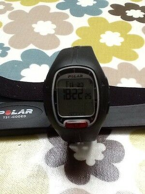 Polar RS100 Running Heart Rate Monitor And Chest Strap