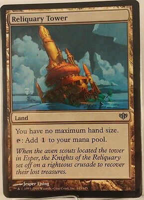 Reliquary Tower x1 NM Conflux Magic the Gathering EDH Mtg