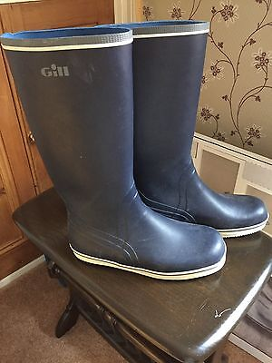 Gill Sailing Boots UK 9.5/US 10.5/Euro 44 _ Mens