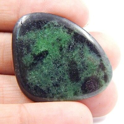 34.8 cts Natural Ruby Zoisite (Anyolite) Gemstone Healing Crystal P#121-27