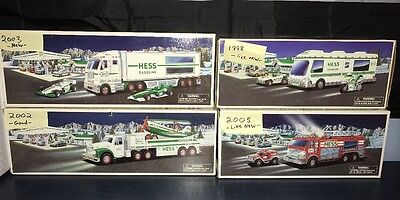 Lot Of 4 Hess Trucks: Various Years & Conditions - Collectors Lot