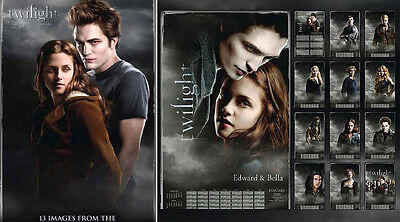 Twilight Poster Calendar Movie Kellan Lutz Robert Pattinson Taylor Launter