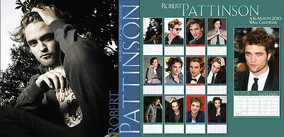 Robert Pattinson 2010 Wall Calendar - Star of Twilight