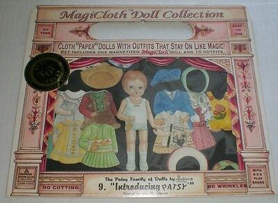 MagiCloth Paper Doll #9 Introducing PATSY  Unused Sealed