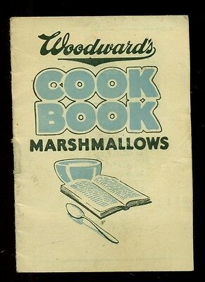 1930's Woodward's Marshmallows Mini Cook Book - Council Bluffs,Iowa