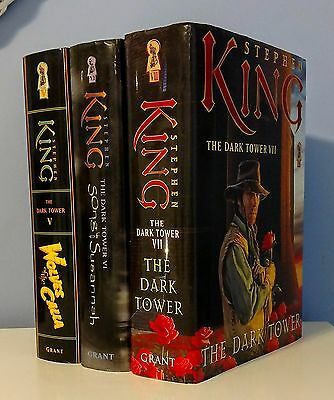 The Dark Tower Hardcover Books 5,6,7 by Stephen King ~ Wolves of the Calla