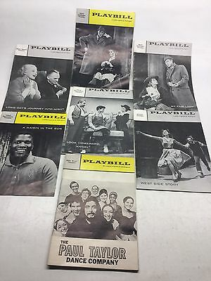 Collection Of 7 Playbill Magazines Most 1958