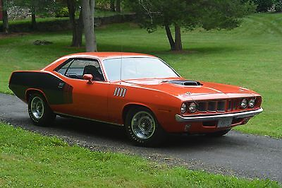 1971 Plymouth Barracuda Original Hemi Cuda 1971 Hemi Cuda Original Numbers Matching car,no excuses,4:10 Dana SuperTrackPack