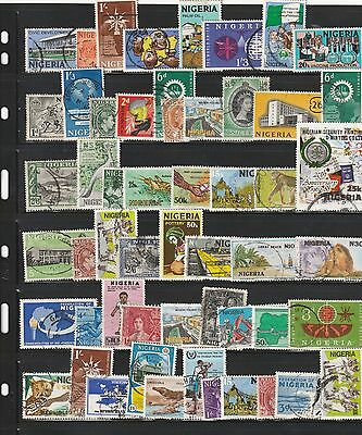 Stamps of Nigeria - 50+ Different Used.