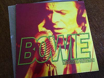 David Bowie The Singles collection Rare 3 Lp Set Vinyl VGC