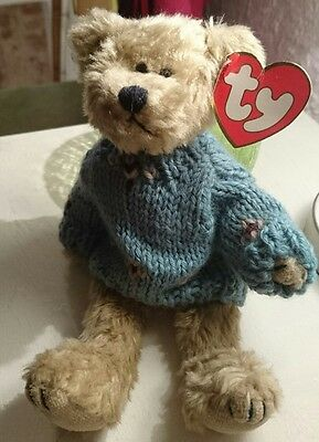 "TY ATTIC TREASURES BEAR ""Skylar"",Retired Rare Collectable"