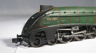 Dapol N Gauge ND-128C A4 60021 BR Green late, mint boxed, Farish couplers