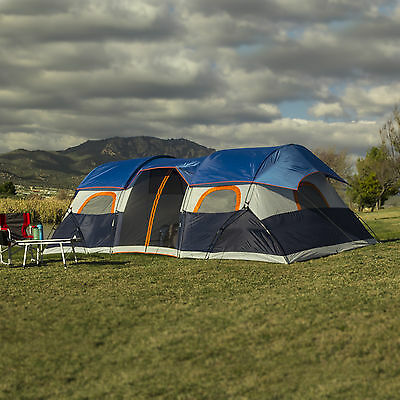 Ozark Trail 20' x 10' Tunnel Tent with Screen Porch, Sleeps 10