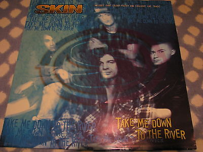 "Skin - Take Me Down To The River 12"" Single Vinyl Record Poster Sleeve"