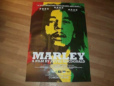 Bob Marley cinema one sheet Poster full size ORIGINAL D/S