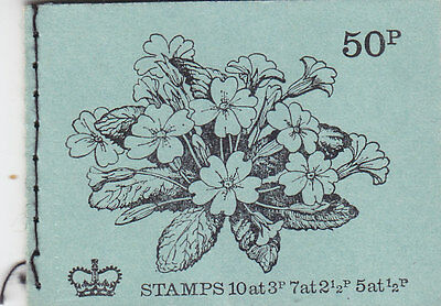 DT2 50p Booklet 1971 May - good perfs