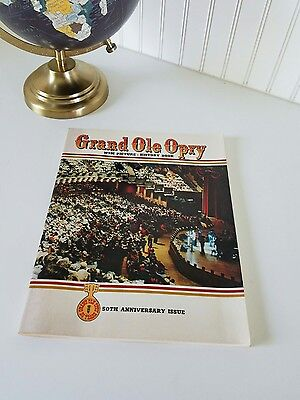 1976 Grand Ole Opry WSM 50TH ANNIVERSARY + Fifty Years.. Dolly, Buddy, HISTORY!