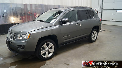 2012 Jeep Compass SP 4 door SUV 2012 Jeep Compass SP, 2.0L Salvage Title, Repairable, Rebuildable #550489