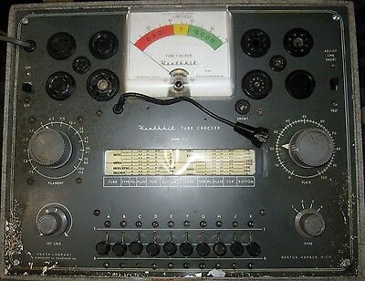 Heathkit TC-2 Tube Checker Vintage Tester USA
