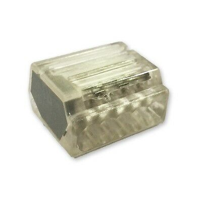 Lyvia 5 Pole Pushwire Connector Transparent With Grey Side