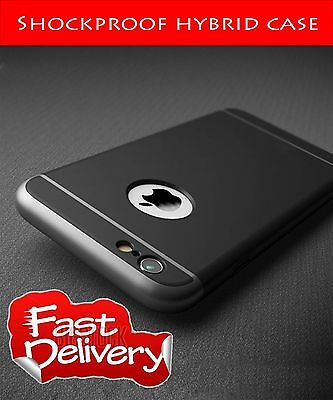 Luxury Shockproof Hard Back Case Cover for iPhone 6/6S BLACK83