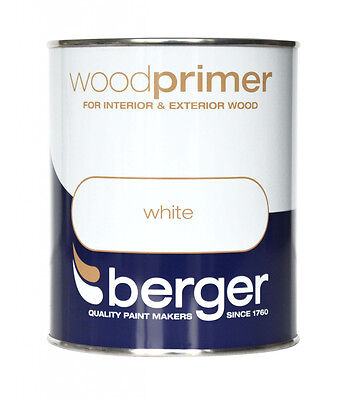 Berger Wood Primer 750ml White