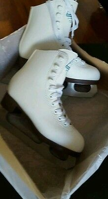 NEW Jackson Glacier Girl ice skates size UK1 EUR 30.5