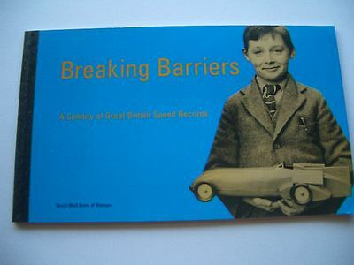 1998 Breaking Barriers Great Britain Prestige Stamp Booklet-Unused-Valued at $45