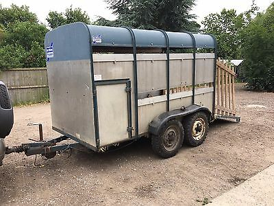 ifor Williams Cattle Trailer Livestock Twin Axel